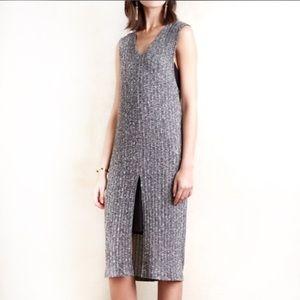 Anthro Dolan layered luna dress NWT ribbed dress